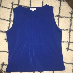 Royal Blue Calvin Klein Blouse